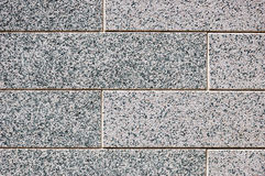 Decorative siding imitating brick wall Royalty Free Stock Images
