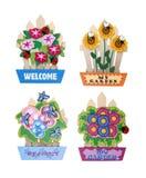Decorative Signs Stock Photo