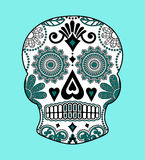 Decorative skull Stock Image