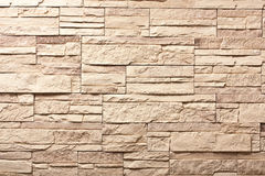 Decorative slate stone wall Stock Image