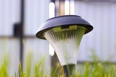 Decorative small garden light Royalty Free Stock Photos