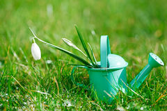 Decorative small gardening tools Royalty Free Stock Photography