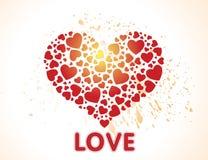 Decorative small heart Royalty Free Stock Photos