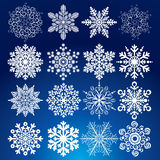Decorative Snow stock photography