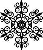 Decorative Snowflake. Stock Images