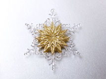 Decorative snowflake Royalty Free Stock Photography