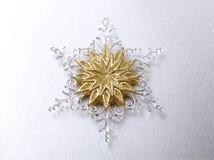 Decorative snowflake Royalty Free Stock Photography