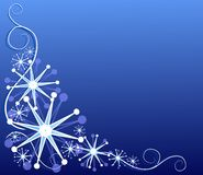 Decorative Snowflake Design 1 Stock Photography
