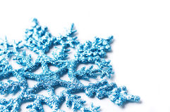 Decorative snowflake isolated stock photos