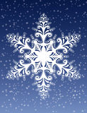 Decorative Snowflake Ornament Vector royalty free illustration