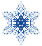 Decorative Snowflake Ornament Vector Stock Image