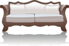 Decorative sofa or couch Royalty Free Stock Photo