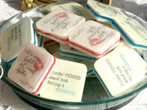 Decorative soaps Royalty Free Stock Photo