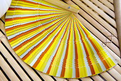 Decorative spanish fans Royalty Free Stock Images