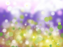 Decorative Sparkle Bubbles Stock Photography
