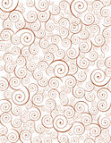 Decorative spiral background Stock Photography