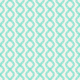 Decorative spiral rope seamless pattern. Stock Photos