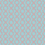 Decorative spiral rope seamless pattern. Stock Images