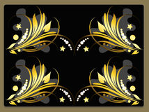 Decorative spring flower design Royalty Free Stock Images