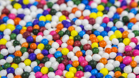 Decorative sprinkles Royalty Free Stock Photo