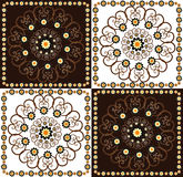 Decorative square background Royalty Free Stock Photo