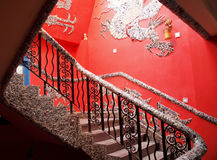 Decorative stairs Royalty Free Stock Images