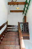 Decorative stairs with railings Royalty Free Stock Photos