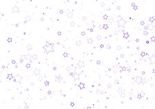 Decorative star field Stock Photos