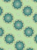Decorative Star Patterns Blue Royalty Free Stock Image