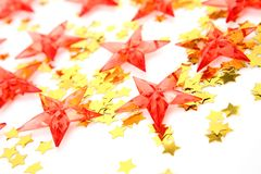 Decorative stars Stock Photos