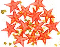 Decorative stars Royalty Free Stock Photo
