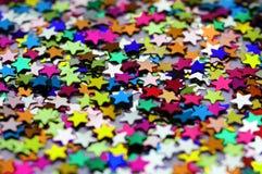 Decorative stars closeup Stock Photos