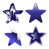 Decorative Stars Royalty Free Stock Image