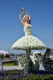 A decorative statue of a ballet dancer Royalty Free Stock Photography