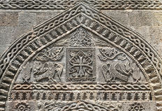 Decorative stone carving Stock Images