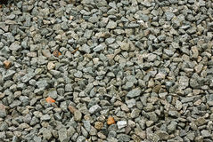 Decorative stone chippings. Granite stone decorative chippings or aggregates used on driveways and walkways royalty free stock photography