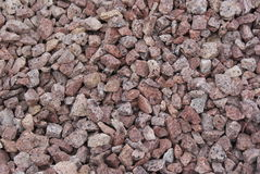 Decorative stone chippings Royalty Free Stock Photo