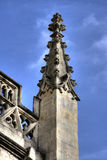 Decorative stone church spire Royalty Free Stock Images