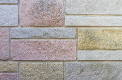 Decorative Stone Cladding Royalty Free Stock Images