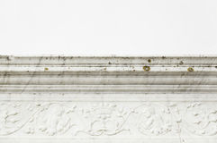 Decorative stone cornice Stock Photos