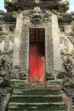 Decorative stone entrance of Pura Kehen Temple in Bali. Decorative doorway at entrance to Pura Kehen temple in Bali, Indonesia royalty free stock images