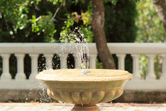 Decorative stone fountain Royalty Free Stock Photos