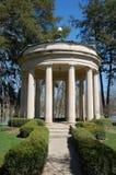 Decorative stone gazebo Royalty Free Stock Images