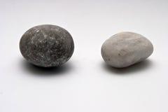 Decorative stone isolated on white studio background - macro shot, shallow depth of field Stock Images