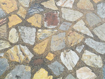 Decorative stone pathway Royalty Free Stock Images