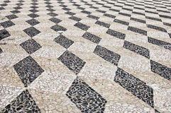 Decorative stone pavement Royalty Free Stock Image