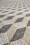 Decorative stone pavement Stock Image