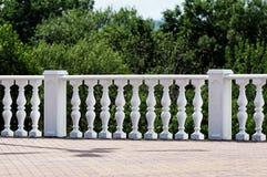 Decorative stone railing. Stock Photography