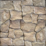 Decorative stone wall - seamless background - stone texture Royalty Free Stock Images