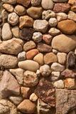 Decorative stone wall Stock Photo